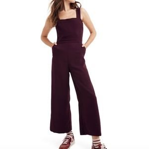 cd8420e4aedb MADEWELL Apron Bow Back Jumpsuit